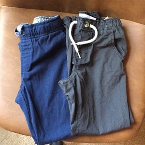 Old Navy and Walmart brand pants, size 4-5t.